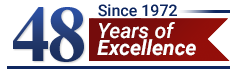 48 Years of Excellence Logo