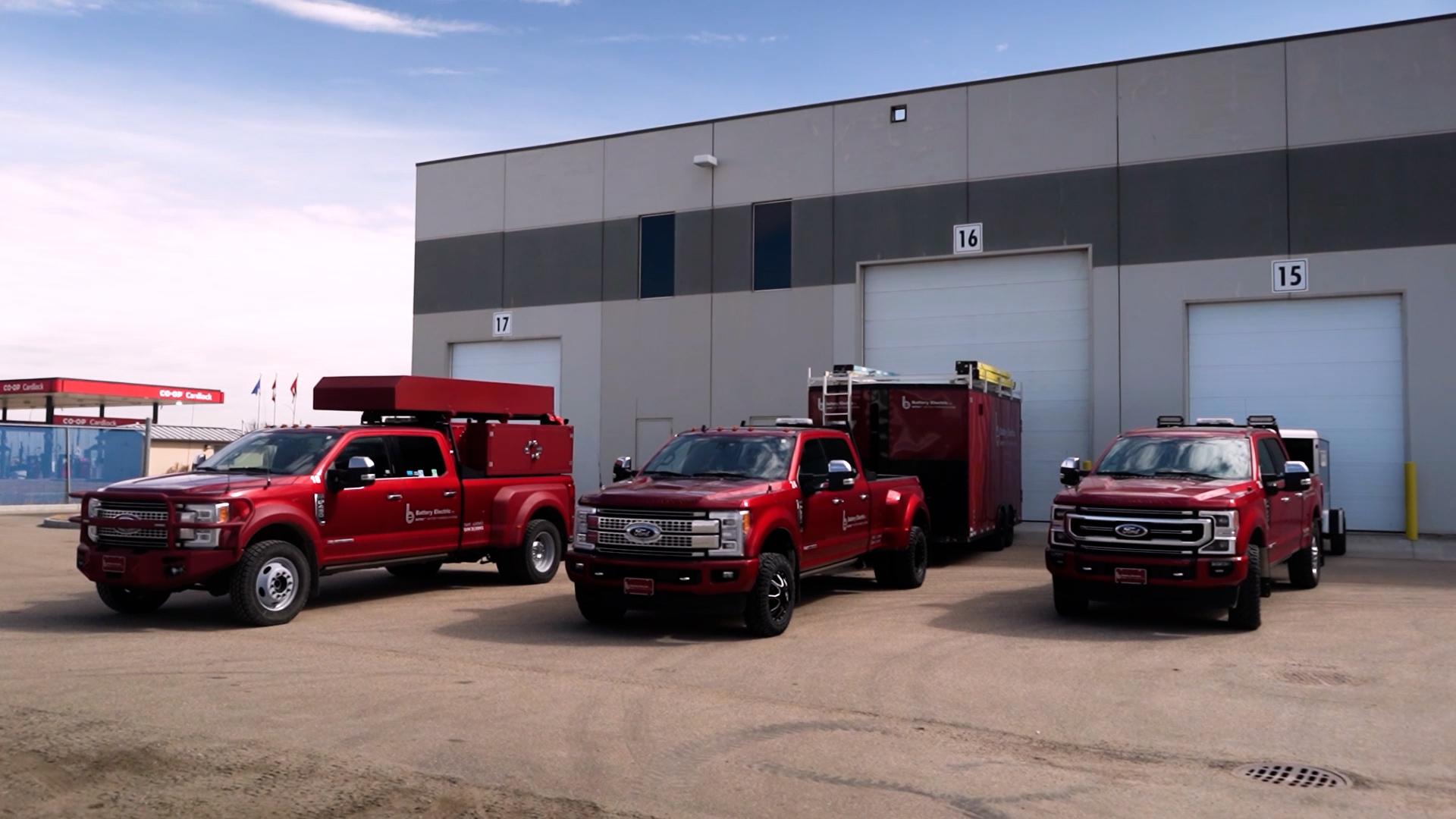 Battery Electric Service Trucks Edmonton