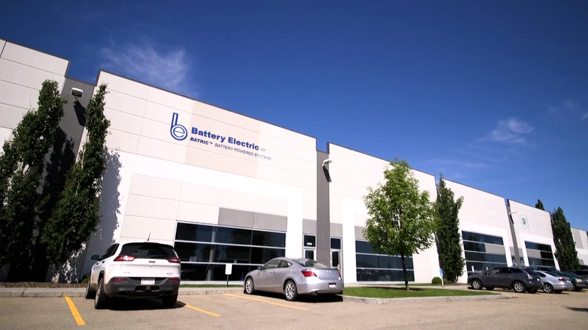 Edmonton Battery Electric Building